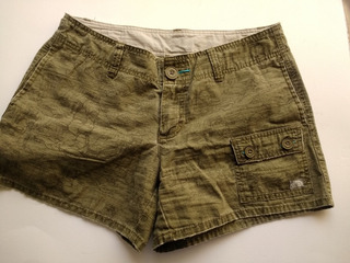 Shorts Deportivos The North Face Verde Militar