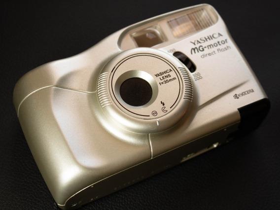Câmera ( Revisada ) Fotográfica Analógica Yashica Mg-motor