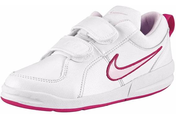 028-596 Tenis Para Niña Mod. 454477-103 Marca Nike Original