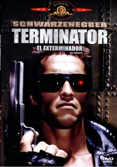 Terminator Arnold Schwarzenegger Pelicula Dvd