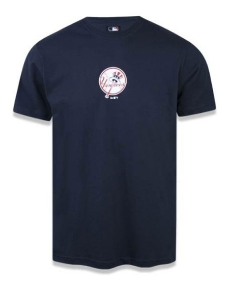 Camiseta New Era New York Yankees Marinho - Mbi18tsh013