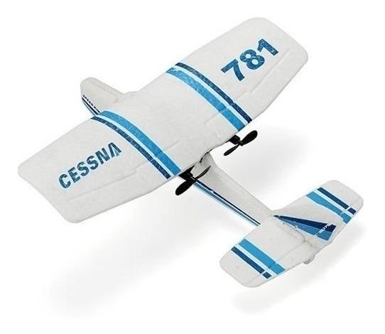 Aeromodelo Aviao De Controle Remoto Mini Cessna 2 Canais