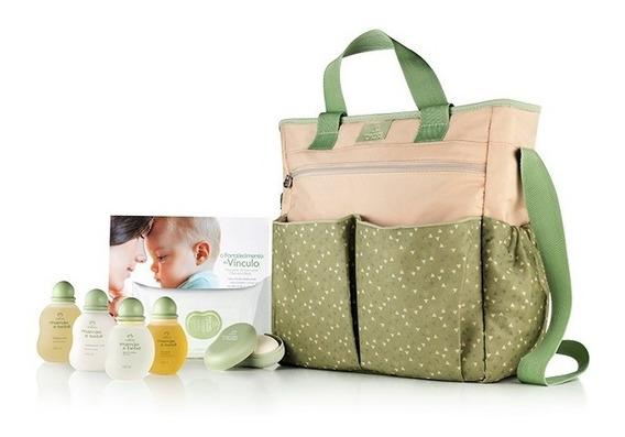 Kit Bolsa Maternidade Mamãe E Bebe + Produtos + Brinde