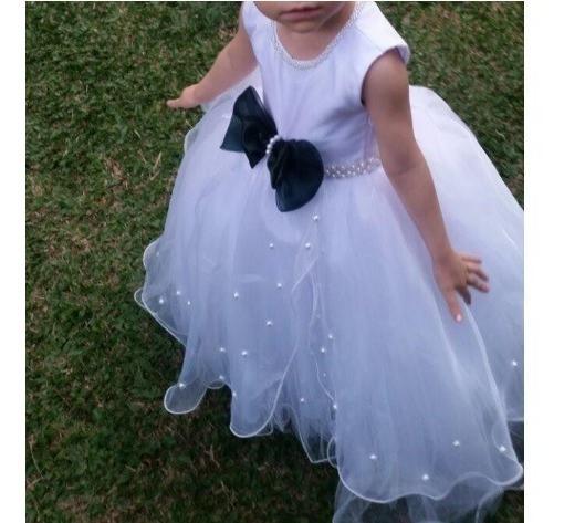 Vestido Infantil Luxo Casamento Formatura Daminha Perfeito.