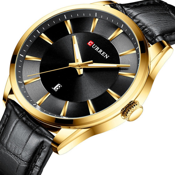 Relógio Masculino Curren Importado Modelo 8365 Black