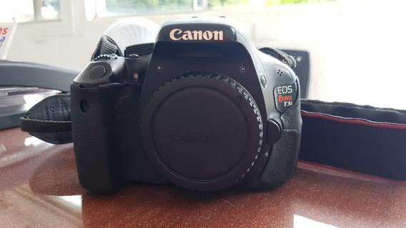Câmera Canon T3i + Lente 18 55