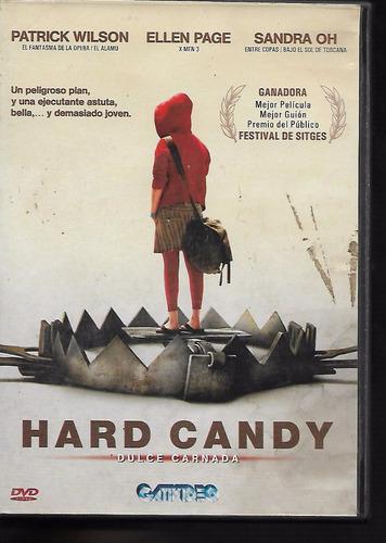 Hard Candy Dulce Carnada Patrick Wilson Ellen Page Dvd
