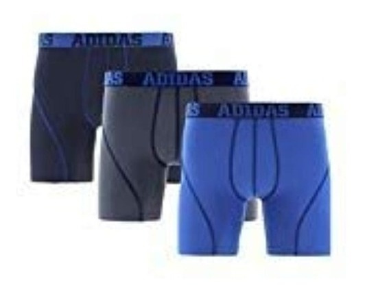 3 Boxers adidas Climalite Athletic Engineered Fit