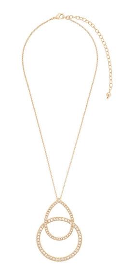 Nice® Collar Pendiente Tristan 4 Baños De Oro 18k