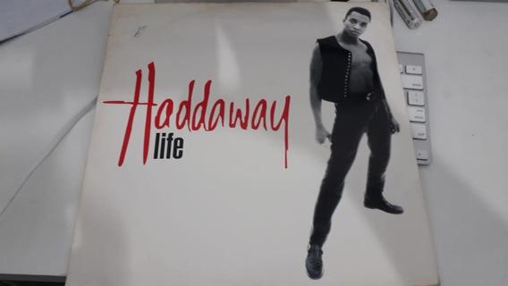 Haddaway ¿- Life Vinil Single Eurodance