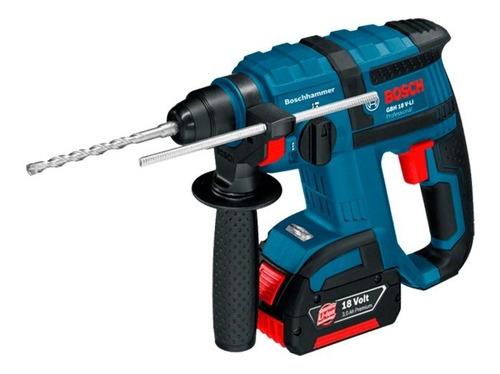 Martillo Perforador A Bateria Bosch Gbh 18 V-li Professional