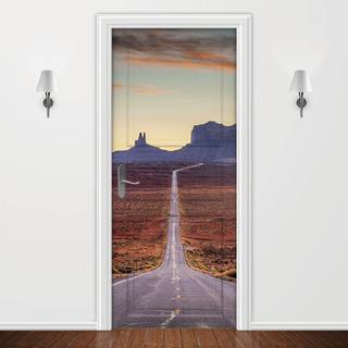Adesivo Para Porta - Decoração Casa Ambiente Criativo Parede