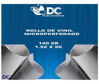 Rollo Vinil Microperforado 140gr 1.52x50 M
