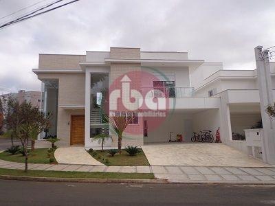 Casa Residencial Para Venda E Locação, Condomínio Mont Blanc, Sorocaba - Ca0469. - Ca0469