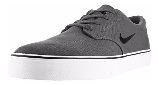 Tenis Nike De Skate Sb Clutch Gris-blanco 12 Us