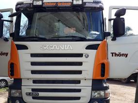 Scania R 420 8x4 Volcador