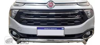 Defensa Baja Cromada Bepo Para Fiat Toro