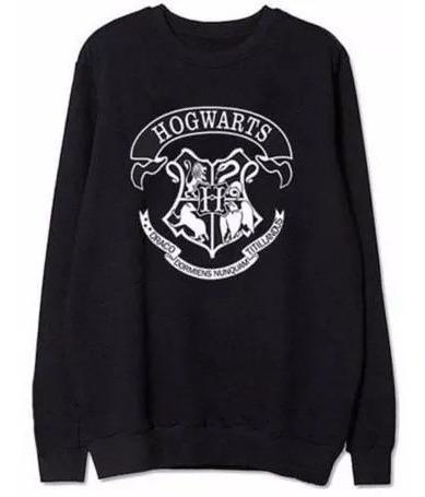 Casaco Moletom Careca Blusa De Frio Harry Potter Hogwarts