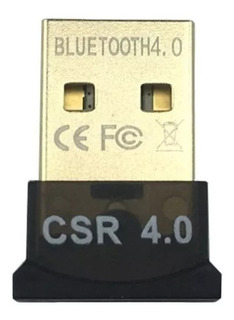 Mini Adaptador Bluetooth Usb Csr 4.0 Conector Pc Windows