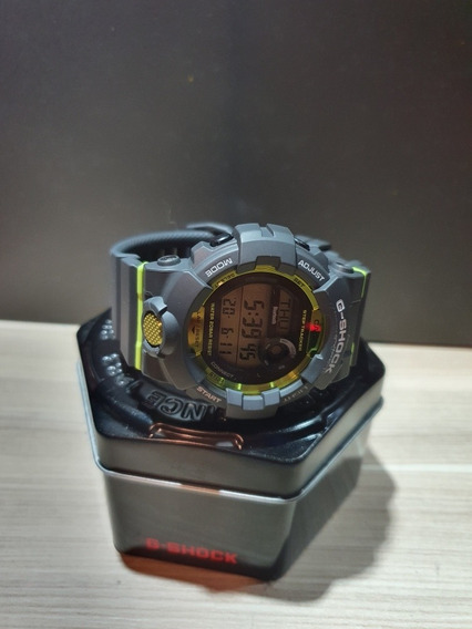 G-shock Gbd-800 Cinza Bluetooth