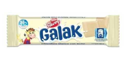 Chocolate Galak  27 Gr  Producto Venezolano