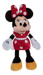 Minnie Mouse Roja Peluche Disney Collection 25 Cms