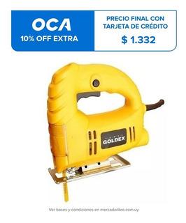 Sierra Caladora Portátil Goldex 450w 3000 Rpm LG