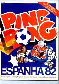 4 Álbum Digitalizado Ping Pong Copa Do Mundo 82, 86, 90, 94