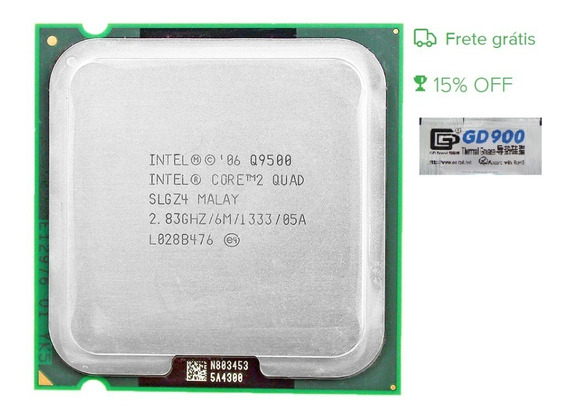 Intel Core 2 Quad Q9500 Lga 775 6m Semi Novo