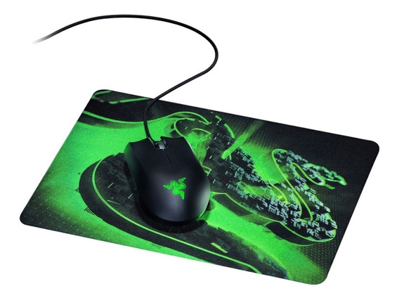 Combo Gamer Razer Abyssus Lite + Goliathus Mob Construct