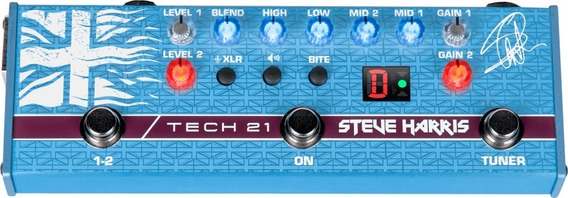 Pedal Tech 21 Steve Harris Sh1 Signature Sansamp