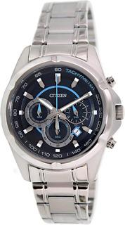 Reloj Hombre Citizen An8040-54l Crono Agente Oficial