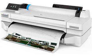 Plotter Hp Designjet T130 61cm Wifi Red Rol Ex T120 Wis