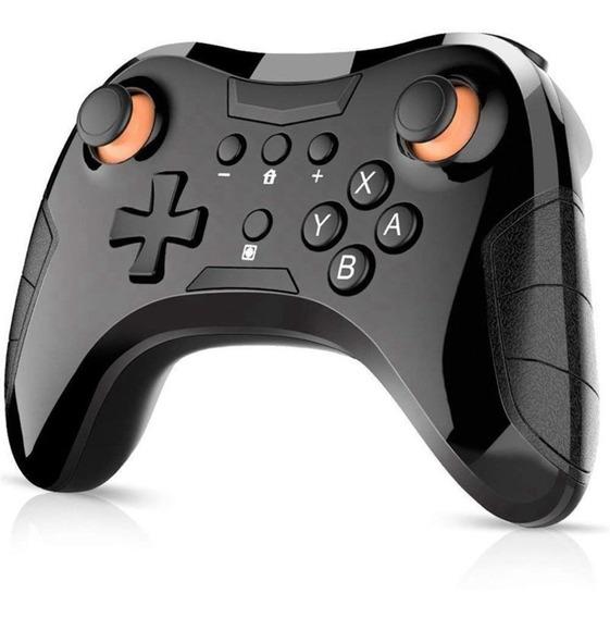 Controle Pro Com Fio Para Nintendo Switch Com Vibração