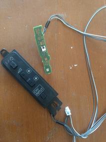 Teclado + Placa Do Teclado + Placa Senso Tv Sony Kdl-32r435b