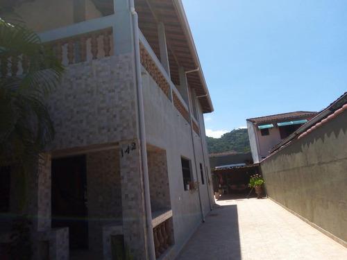 Casa Em Vera Cruz, Mongaguá/sp De 223m² 3 Quartos À Venda Por R$ 450.000,00 - Ca752861