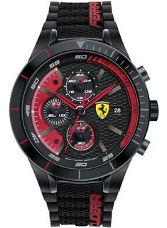 Reloj Deportivo Ferrari Redrev Evo Formula 1 - Nuevo En Caja