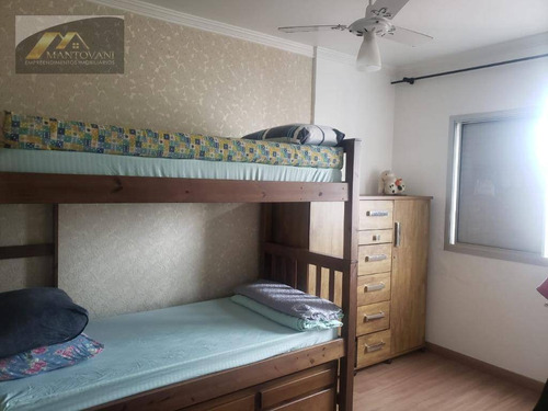 Apartamento Com 2 Dormitórios À Venda, 64 M² Por R$ 280.000 - Vila Guilhermina - Praia Grande/sp - Ap2478
