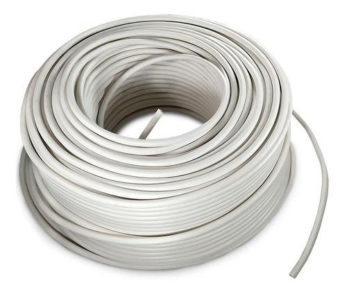 Imagen 1 de 2 de Cable Electrico Cca Calibre 8 Blanco 100 Metros