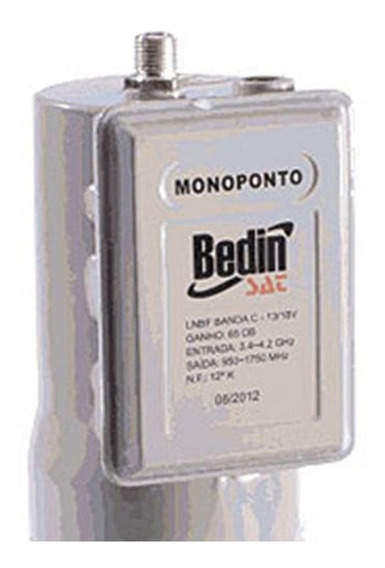 Lnbf Monoponto Banda C - Bedin Sat