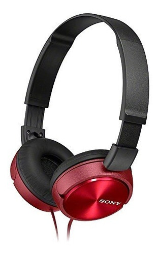 Sony Mdr-zx310 R - Rojo Metálico