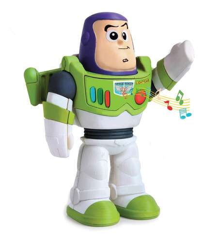 Muñeco Buzz Lightyear Con Sonido ¡hermoso Juguete P Navidad!