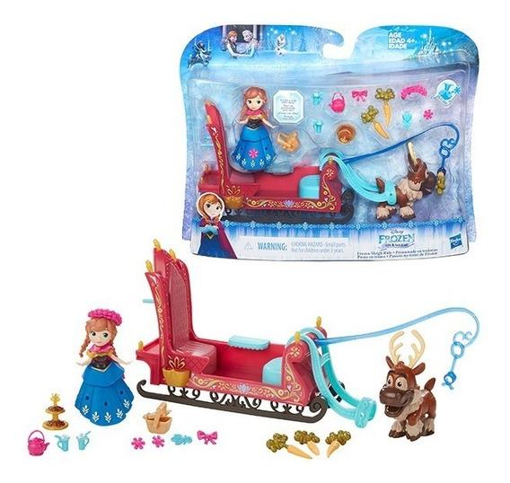 Frozen Conjunto Mini Playset Anna