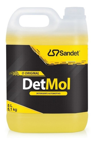 Imagem 1 de 2 de Shampoo Limpeza Pesada 5l Lava Moto Off Road Detmol Sandet *