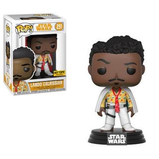 Funko Pop! Star Wars Lando Calrissian #251 (hot Topic)