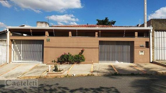 Casa Residencial À Venda, Parque São Quirino, Campinas. - Ca1714