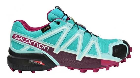 Zapatilla Mujer Salomon Speedcross 4 W Gtx 394667