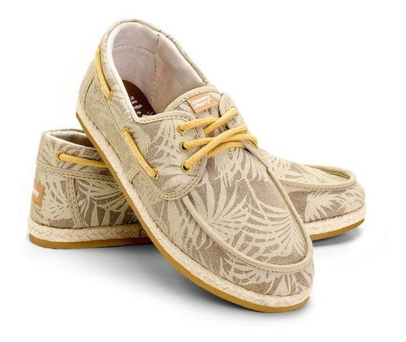 Zapato Náutico Chimmy Churry Alpargata Palm Tree