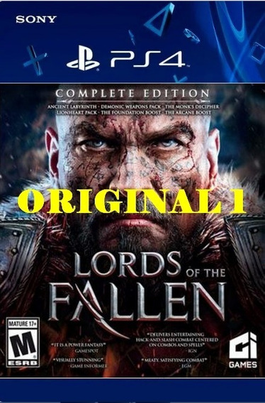 Lords Of The Fallen - Ps4 Code 1 Env Já