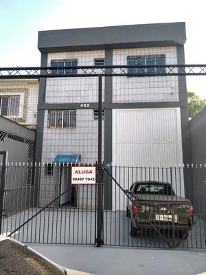 Alugo Galpao Na Vila Anastacio, Com 350 Metros Quadrados
